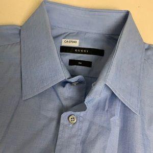 Authentic Gucci Dress Shirt - EUC